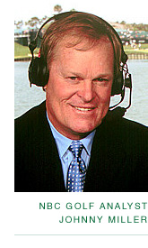 NBC Golf Analyst Johnny Miller